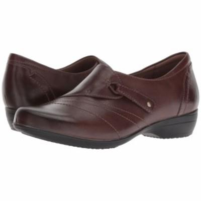ダンスコ Dansko レディース ローファー・オックスフォード シューズ・靴 Franny Chocolate Burnished Calf