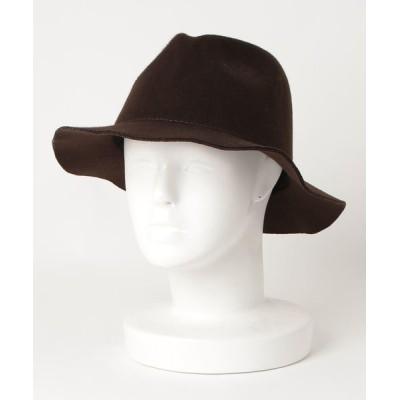 salle de bal / ▽ ウールライクハット つば広帽子 WOMEN 帽子 > ハット
