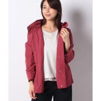 Leilian(レリアン)フード付きショートジャケット