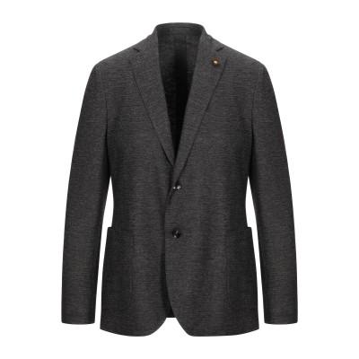 ラルディーニ LARDINI テーラードジャケット ダークブラウン 54 ウール 68% / コットン 32% テーラードジャケット