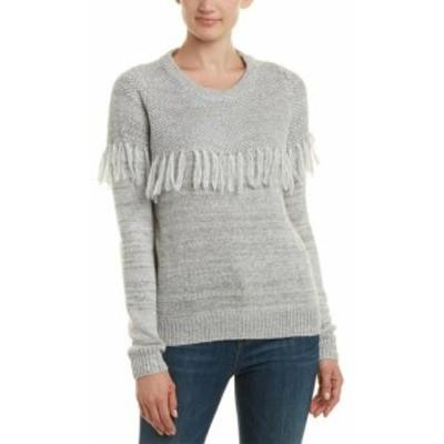 Lucy ルーシー ファッション トップス Lucy Paris Fringe Sweater Xs Grey