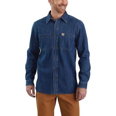 (取寄)カーハート メンズ デニム ロングスリーブ シャツ Carhartt Men's Denim LS Shirt Levee 送料無料