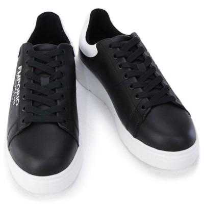 エンポリオアルマーニ EMPORIO ARMANI 靴 メンズ スニーカー ブラック×ホワイト (X4X264 XM552 N300 BLACK/MILANO+WHITE) 2020年秋冬新作