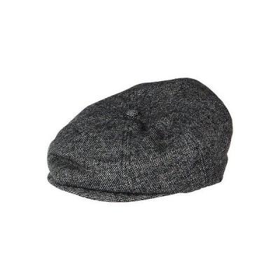 帽子 ブリクストン Brixton Brood Snap Cap グレー/ブラック Herリングbone XL