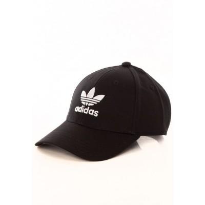 アディダス Adidas ユニセックス キャップ ベースボールキャップ 帽子 - Baseball Classic Trefoil Black/White - Cap black