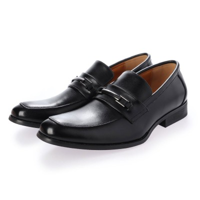 ジョーマリノ JO MARINO 本革 メンズ ビジネスシューズ 紳士靴 ドレスシューズ 防滑 (ブラック)