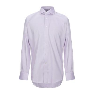 カナーリ CANALI シャツ ライトパープル 40 コットン 100% シャツ