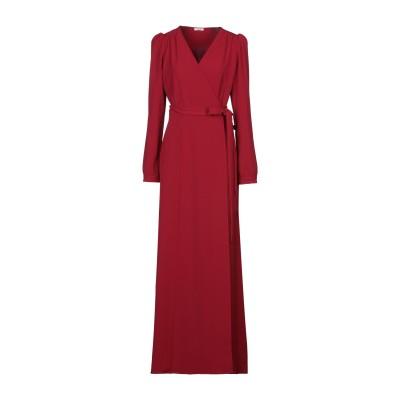 パロッシュ P.A.R.O.S.H. ロングワンピース&ドレス レッド XS ポリエステル 97% / ポリウレタン 3% ロングワンピース&ドレス