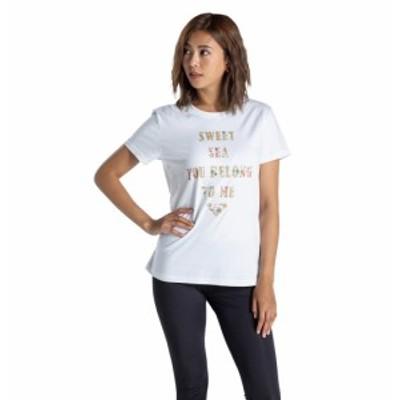 40%OFF セール SALE Roxy ロキシー Tシャツ SWEET SEA YOU  BELONG TO ME Tシャツ ティーシャツ