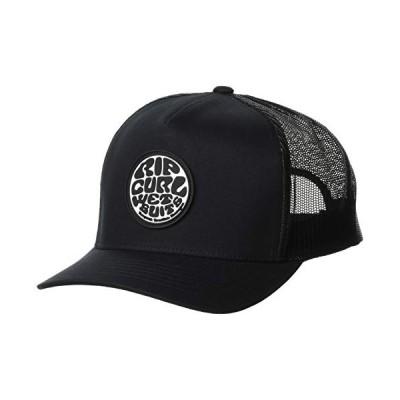 [リップカール] [ユニセックス] メッシュキャップ (サイズ調整)[ S01-901 / WETTY CAP ] 帽子 おしゃれ BLK_ブラック