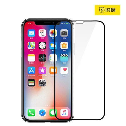 閃魔 滿版9D iPhone 12 mini SE 11 Pro XS Max XR 8 6s Plus 全玻璃保護貼