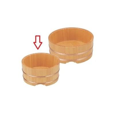 桶 そば・うどん桶6寸 高さ95 直径:180/業務用/新品