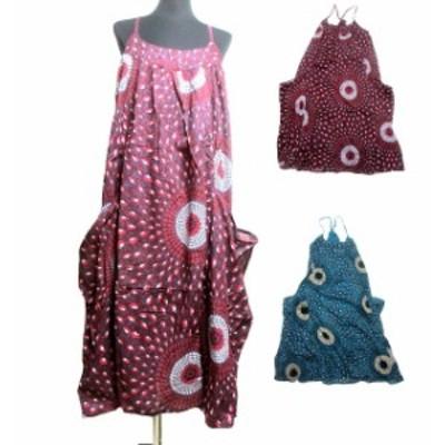 変形キャミエスニックワンピース エスニック衣料エスニックアジアンファッション