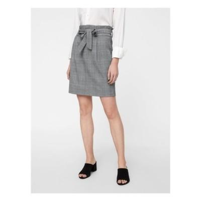 ヴェロモーダ スカート レディース ボトムス VMEVA - A-line skirt - grey