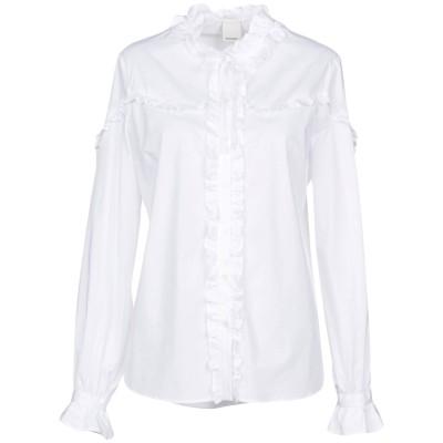 ピンコ PINKO シャツ ホワイト 38 コットン 97% / ポリウレタン 3% シャツ