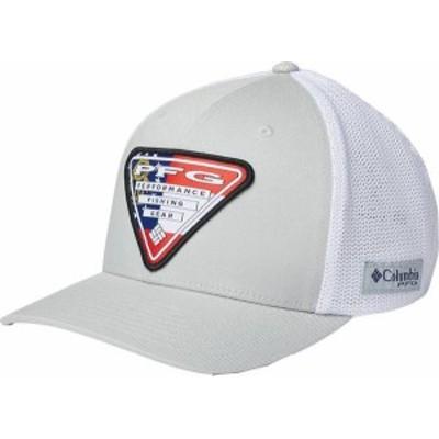 コロンビア メンズ 帽子 アクセサリー Columbia Men's PFG Mesh Stateside Ball Cap Cool Gry/Georgia Triangle