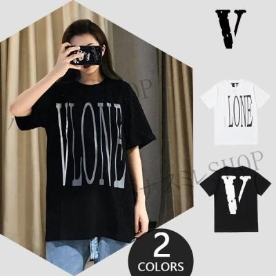 VLONE Tシャツ メンズ レディース 半袖 トレンディー 男女半袖 Tシャツ 子供の日ギフト プレゼント
