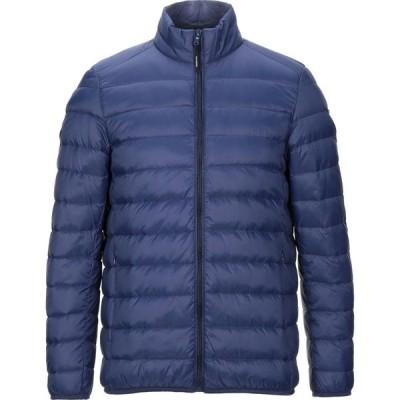 トラサルディ TRUSSARDI COLLECTION メンズ ダウン・中綿ジャケット アウター down jacket Blue
