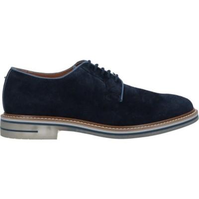ブリマート BRIMARTS メンズ シューズ・靴 laced shoes Dark blue