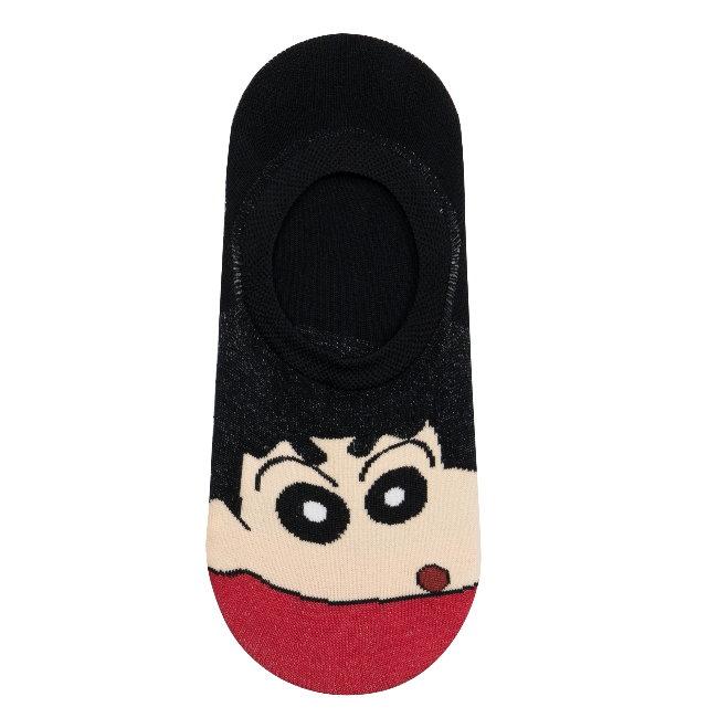 韓國襪子 蠟筆小新全版隱形襪-小新
