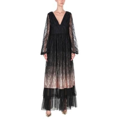 TRESOPHIE ロングワンピース&ドレス ブラック 42 ポリエステル 100% ロングワンピース&ドレス