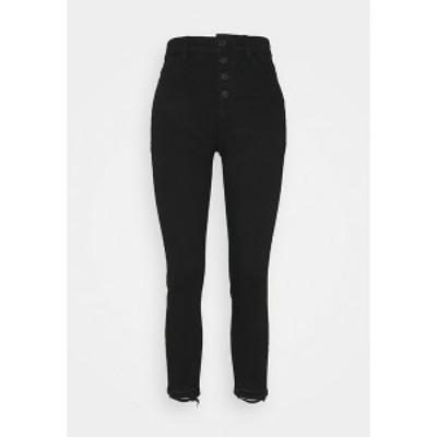 アメリカンイーグル レディース デニムパンツ ボトムス Jeans Skinny Fit - onyx black onyx black