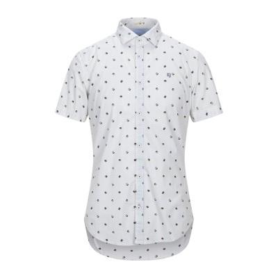 GARCIA シャツ ホワイト S コットン 100% シャツ