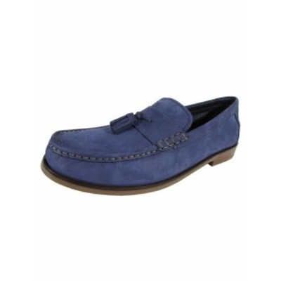 Cole Haan コールハーン ファッション シューズ Cole Haan Men Pinch Friday Tassel Contemporary Loafer Shoe Marine Blue US 12
