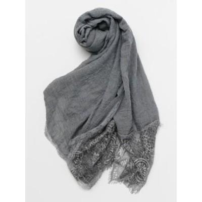 欧州航路 公式 《レースストール》 ヨーロッパ 雑貨 ファッション  ファッション雑貨 ストール/ショール/スカーフ LCOP0110