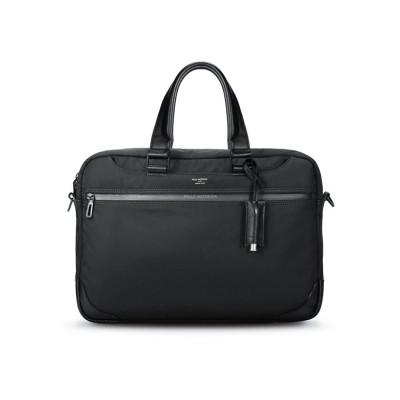 【カバンのセレクション】 ペッレモルビダ ハイドロフォイル ブリーフケース ビジネスバッグ メンズ A4 B4 防水 PELLE MORBIDA HYD001 ユニセックス ブラック フリー Bag&Luggage SELECTION