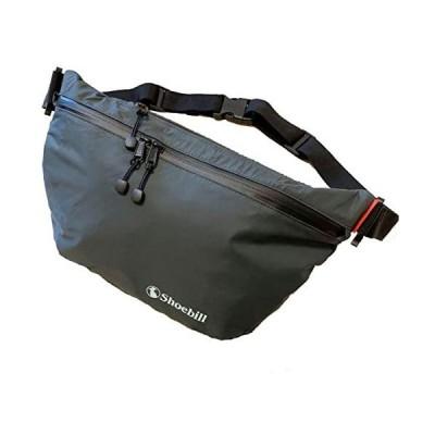 Shoebill ボディバッグ 防水 スポーツ ナイロン ショルダーバッグ 斜めがけ メンズ 軽量 ボディーバッグ (グレー)