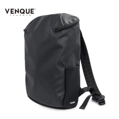 バックパック ブランド 防水 アウトドア ビジネス 防水バックパック メンズ レディース PC収納 VENQUE ヴェンク ブラック