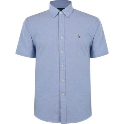 ラルフ ローレン Polo Ralph Lauren メンズ 半袖シャツ ワイシャツ トップス Short Sleeve Oxford Shirt BSR Blue