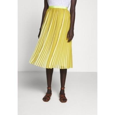 ジェイクルー スカート レディース ボトムス DEE SKIRT STRIPED - A-line skirt - golden citrus