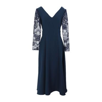 ALEX VIDAL 7分丈ワンピース・ドレス ダークブルー 36 ナイロン 100% 7分丈ワンピース・ドレス