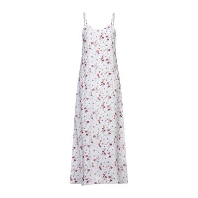NA-KD ロングワンピース&ドレス ホワイト XS レーヨン 100% ロングワンピース&ドレス