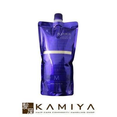 ミルボン プラーミア ヘアセラム シャンプー M 400ml 詰替用|エイジングケア 毛先 柔軟性 ごわつき しなやか しっとり メール便対応1個まで