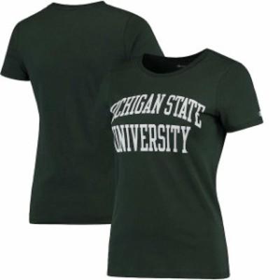 Champion チャンピオン スポーツ用品  Champion Michigan State Spartans Womens Green University T-Shirt
