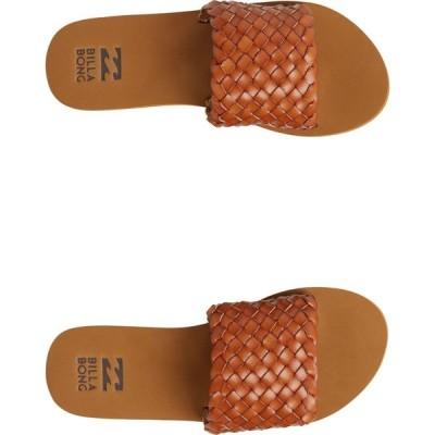 ビラボン Billabong レディース サンダル・ミュール シューズ・靴 one way slides Tan