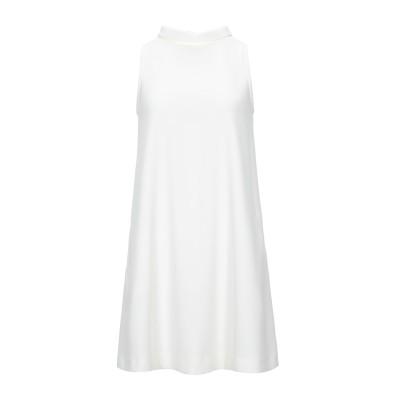 ANNIE P. ミニワンピース&ドレス ホワイト 40 ポリエステル 100% ミニワンピース&ドレス