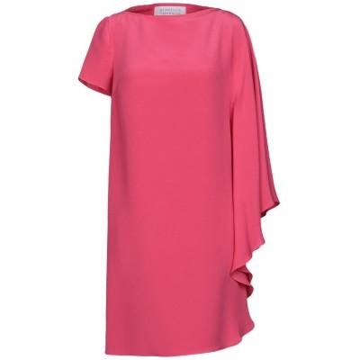 ジャンルカ・カパンノロ GIANLUCA CAPANNOLO ミニワンピース&ドレス フューシャ 40 シルク 100% ミニワンピース&ドレス