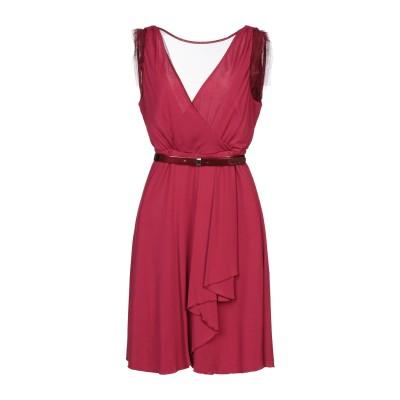 リュー ジョー LIU •JO ミニワンピース&ドレス ホワイト 46 レーヨン 100% ミニワンピース&ドレス