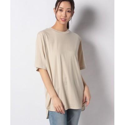 (Te chichi/テチチ)【Lugnoncure】ラウンドヘムTシャツ SS/レディース ベージュ