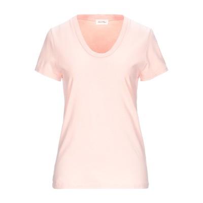 アメリカン ヴィンテージ AMERICAN VINTAGE T シャツ ピンク S コットン 100% T シャツ