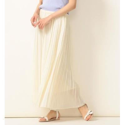 【シップス/SHIPS】 SHIPS any:ソリッドプリーツスカート