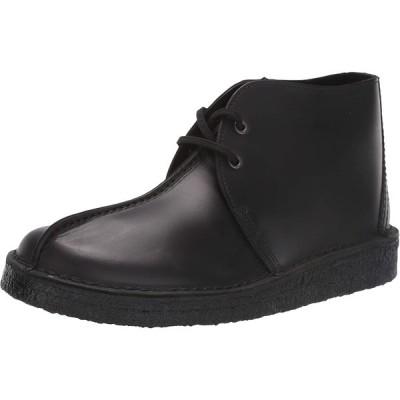 Clarks メンズ デザートトレック ハイチャッカブーツ US サイズ: 9 カラー: ブラック