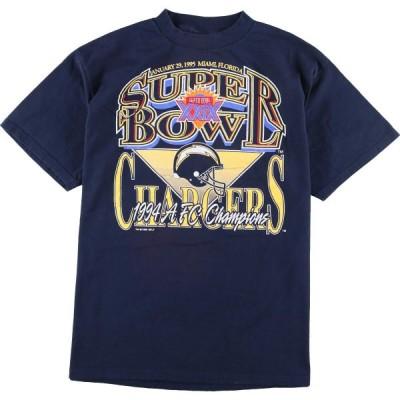 90年代 COMPETITOR SUPER BOWL XXXIX スーパーボウル スポーツプリントTシャツ メンズXL ヴィンテージ /eaa150093