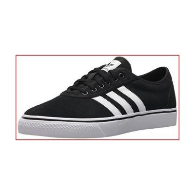 adidas Originals Men's Adiease Skate Shoe, core Black/White/core Black, 7.5 M US【並行輸入品】