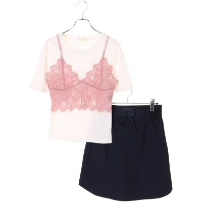 ★SET3点 ビスチェ+インナー+スカート