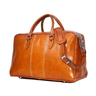 Floto Luggage Venezia Trunk Duffle Bag in Olive (Honey) Brown Leather 並行輸入品